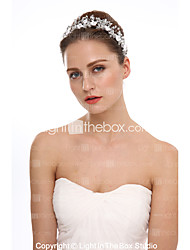 cheap -Acrylic / Rhinestone / Alloy Tiaras with Acrylic / Rhinestone 1 Piece Wedding Headpiece