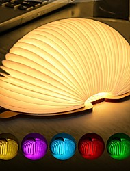 cheap -Book LED Night Light Cartoon / Color-Changing / Creative 1pc
