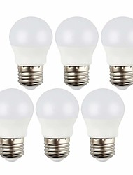 cheap -6pcs 3 W LED Globe Bulbs 240 lm E26 / E27 8 LED Beads SMD 2835 Decorative Warm White Cold White 12 V