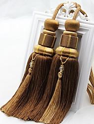 abordables -rideau Accessoires Frange Style européen 2 pcs