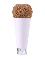 Недорогие -новинка аккумуляторная светящаяся USB круглая бутылка пробка винный свет теплый белый свет пластик + электронные компоненты