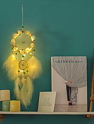 cheap -Handmade Dream Catchers With LED Lights Wall Art Decoration