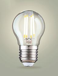 cheap -4pcs 4 W LED Filament Bulbs 400 lm E26 / E27 A65 4 LED Beads COB Warm White Cold White 200-240 V