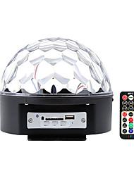 Недорогие -1шт 18 W 9 Светодиодные бусины Bluetooth-динамик Пульт управления Простая установка Светодиодные театральные лампы Поменять 110-240 V