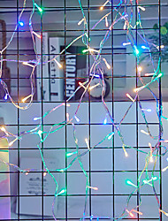 cheap -50m String Lights 400 LEDs 1 set Cold White / Red / Blue Waterproof / Creative / Party 220-240 V / 110-120 V / IP44