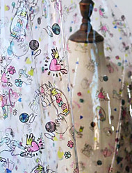 cheap -PVC Animal pattern Pattern 142 cm width fabric for Apparel and Fashion sold by the 0.5m