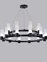 cheap -20 Bulbs 80 cm Mini Style Chandelier Metal Mini Painted Finishes Artistic / Traditional / Classic 110-120V / 220-240V