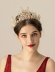 cheap -Alloy Headbands / Headdress / Hair Accessory with Crystals / Rhinestones 1 pc Wedding / Party / Evening Headpiece