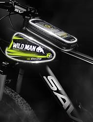 cheap -Cell Phone Bag Bike Frame Bag Top Tube 5-5.5 inch Portable Cycling for Cycling Black Red Ginger Road Bike Cycling / Bike Recreational Cycling