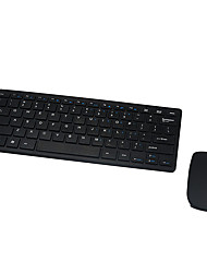 cheap -LITBest W201 Wireless 2.4GHz Mouse Keyboard Combo Mini / Portable / Spill-Resistant Office Keyboard Mini Size Office Mouse / Ergonomic Mouse 1600 dpi