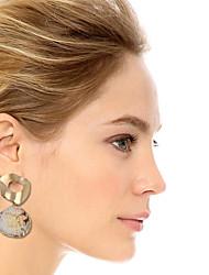 abordables -Femme Boucle d'Oreille Pendantes Naturel Tropical Coquillage Des boucles d'oreilles Bijoux Dorée Pour Mariage Soirée Quotidien Plein Air Travail 1 paire