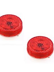 cheap -2pcs Car Openning Door Warning Flash Lamp Safety Indication Wireless Anti-Collision signal light parking lamps