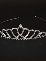 cheap -Women's Ladies For Homecoming Royalty Rhinestone Silver Plated Alloy Silver