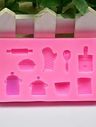 Недорогие -1шт Силикон Творческая кухня Гаджет Для приготовления пищи Посуда Десертные инструменты Инструменты для выпечки