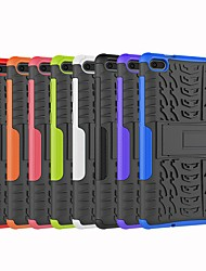 cheap -Case For Lenovo Lenovo Tab E7(TB-7104) / Lenovo Tab 4 10 Shockproof / with Stand Back Cover Armor Hard PC