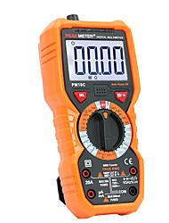 cheap -PEAKMETER Digital Multimeter PM18C with True RMS AC/DC Voltage Resistance Capacitance Frequency Temperature NCV Tester