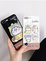 cheap -Case For Apple iPhone XR / iPhone XS Max Pattern Back Cover Cartoon Soft TPU for iPhone X XS 8 8PLUS 7 7PLUS 6 6S 6PLUS 6S PLUS