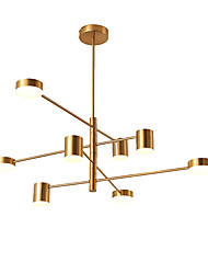 cheap -8-Light 103 cm Mini Style Chandelier Metal Mini Electroplated / Painted Finishes Artistic / Traditional / Classic 110-120V / 220-240V