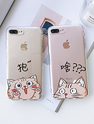 cheap -Case For Hot model  Apple iPhone XR  iPhone XS Max Pattern Back Cover Cat Soft TPU for iPhone 6   6 Plus   6s  6s plus 7 8 7plus  8plus  X  XS XR XS MAX