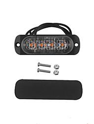 Недорогие -Автомобиль Лампы 12 Светодиодная лампа Задний свет / Предупреждающие огни Назначение Bentley / Bugatti / Freightliner 9-7X / ES300 / Sorento Все года