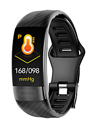 cheap -p11 Unisex Smart Bracelet Smartwatch Android iOS Bluetooth Waterproof Touch Screen Heart Rate Monitor Blood Pressure Measurement Sports ECG+PPG Timer Pedometer Call Reminder Activity Tracker