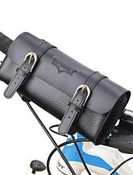 cheap -Bike Handlebar Bag Cycling Casual Bike Bag PU Leather Bicycle Bag Cycle Bag Cycling