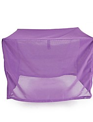 cheap -Dogs Cats Cages Terylene Pet Covers Solid Colored Adjustable Portable Soft Purple