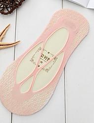 abordables -10 paires Femme Chaussettes Couleur Pleine Déodorant Polyester EU36-EU46