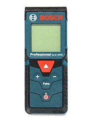 cheap -Bosch GLM4000 40M Laser Mistance Meter Handheld Design / Easy to Use / Backlit display for furniture installation / for smart home measurement / for engineering measurement