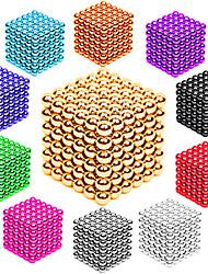 Недорогие -216/512 pcs 3mm / 5mm Магнитные игрушки Магнитные шарики Конструкторы Сильные магниты из редкоземельных металлов Неодимовый магнит Неодимовый магнит / Стресс и тревога помощи
