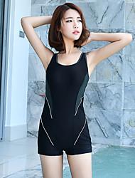abordables -SEA BBOT Femme Maillot de bain Maillots de Bain Protection solaire UV Sans Manches Plongée Mosaïque Eté