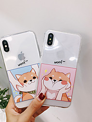 cheap -Case For Hot model  Apple iPhone XR  iPhone XS Max Pattern Back Cover Dog Soft TPU for iPhone 6   6 Plus   6s  6s plus 7 8 7plus  8plus  X  XS XR XS MAX