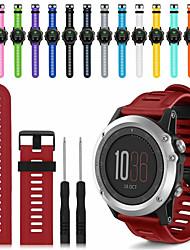 cheap -Watch Band for Fenix 5x / Fenix 3 HR / Fenix 3 Garmin Sport Band / DIY Tools Silicone Wrist Strap