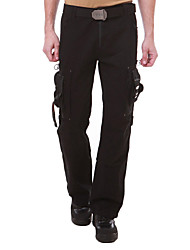 cheap -Men's Hiking Pants Winter Outdoor Breathable Quick Dry Sweat-wicking Multi-Pocket Cotton Pants / Trousers Bottoms Climbing Camping / Hiking / Caving Black Green 27 28 29 30 31