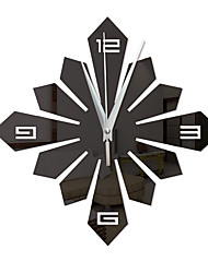 cheap -Wall Clock,Modern Contemporary Fashion Acrylic Irregular Indoor