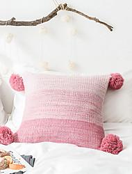 cheap -1 pcs Polyester Pillow Cover, Color Block Fashion Modern Throw Pillow