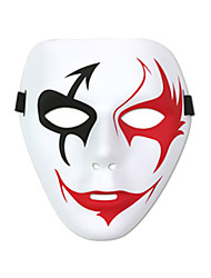 cheap -Cosplay Costume Mask Inspired by Grim Reaper Black Red Cosplay Halloween Halloween Carnival Masquerade Adults' Men's Women's