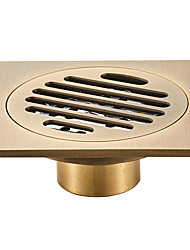 cheap -Floor Drain Drain Cool Country / Antique Brass 1pc - Hotel bath Floor Mounted