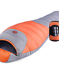 cheap -Shamocamel® Sleeping Bag Outdoor Camping Mummy Bag -5~0 °C Single Duck Down Breathable Warm Soft 200*80 cm Autumn / Fall Fall Winter for Camping / Hiking Traveling Outdoor Sleeping Bags Camping