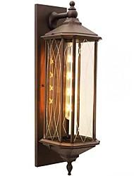 cheap -QIHengZhaoMing LED / Modern Contemporary Outdoor Wall Lights Shops / Cafes / Office Metal Wall Light 110-120V / 220-240V 5 W