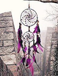 cheap -Handmade Dream Catchers Feather Bohemia Style Wall Decorations