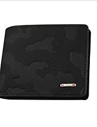 cheap -Men's Zipper PU(Polyurethane) / PU Wallet Black / Coffee