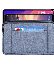 cheap -5/6 Inch Case For Universal Card Holder Waist Bag / Waistpack Solid Colored Soft Textile