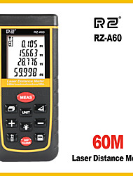 cheap -RZ-A Laser Distance Meter Rangefinder Range Finder 60m Electronic Ruler Digital Tape Measure Area volume Tool