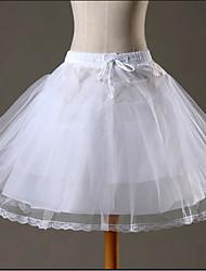 cheap -Maid Costume Ballet Classic Lolita 1950s Dress Petticoat Hoop Skirt Crinoline Women's Girls' Tulle Costume White Vintage Cosplay Wedding Party Princess