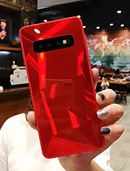 cheap -Case For Samsung Galaxy S9 / S9 Plus / S8 Plus Shockproof / Mirror Back Cover Solid Colored Hard Acrylic / PC