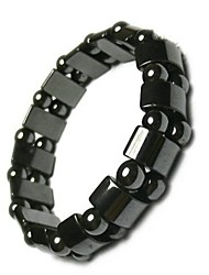 cheap -Adjustable Weight Loss Round Black Stone Magnetic Therapy Bracelet Health Care Luxury Slimming Product