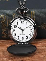 cheap -Men's Pocket Watch Quartz Black Casual Watch Large Dial Analog Casual - Black