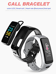 cheap -KUPENG V12 Unisex Smart Bracelet Smartwatch Android iOS Bluetooth Smart Sports Heart Rate Monitor Blood Pressure Measurement Touch Screen Pedometer Call Reminder Sleep Tracker Sedentary Reminder Find