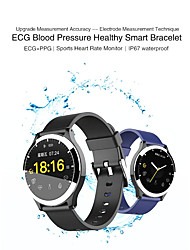 cheap -KUPENG B67 Men Women Smartwatch Android iOS Bluetooth Waterproof Touch Screen Heart Rate Monitor Blood Pressure Measurement Sports Pedometer Call Reminder Activity Tracker Sleep Tracker Sedentary